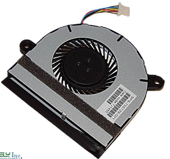 Ventilateur CPU Original pour HP Pavilion x360 11-n081nd 11-n081nf